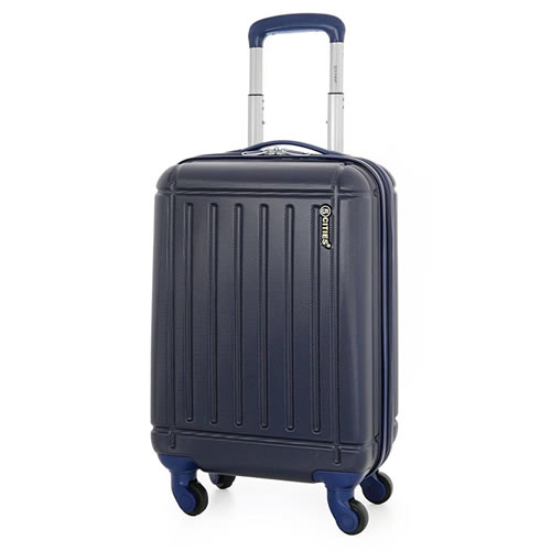 5Cities 4Wheel Ryanair Hardshell 55x35x20cm 2.5Kg Navy Blue