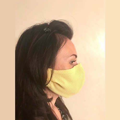 Passenger Face Mask Washable Yellow
