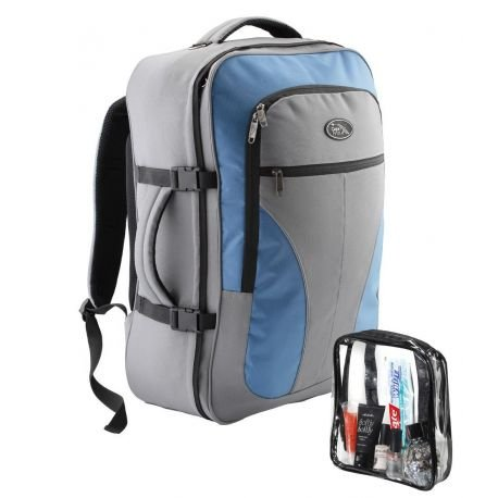 Cabin Max Ryanair Backpack 55x40x20cm 0.8Kg GrayBlue