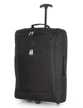 Compass Trolley Backpack 50x35x20cm Black 1.5Kg