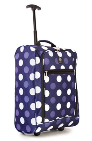 Compass Trolley Backpack 50x35x20cm Purple 1.5Kg