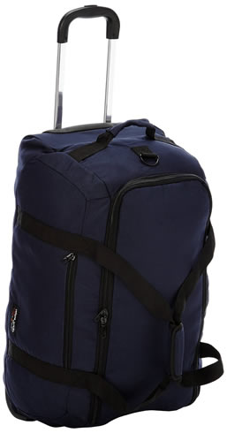 Delsey Check In Duffel Trolley Bag Navy