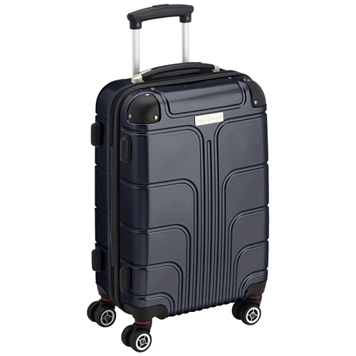 Luggage Zone Executive 55x35x20cm 2.9Kg Black