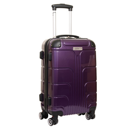 Luggage Zone Executive 55x35x20cm 2.9Kg Purple