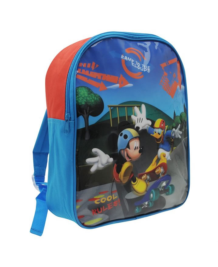 Character Back Pack Mickey Donald