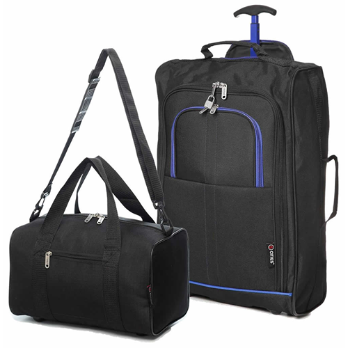 Travelmax Ryanair 2 CabinBag Set Blue Trim