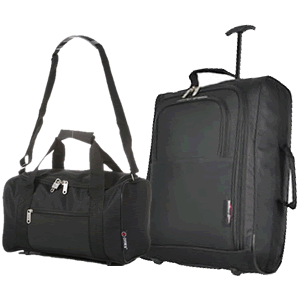 Travelmax Ryanair 2 CabinBag Set Black