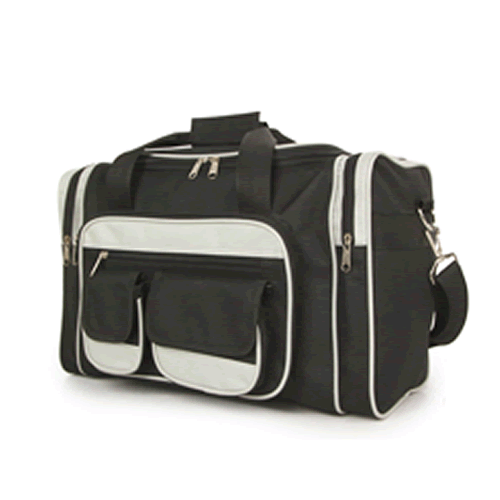 UnderSeat Ryanair Holdall 7Pockets 40x25x20cm Black