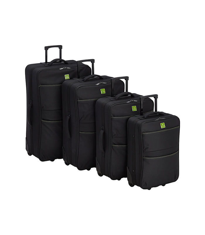 Saxoline Antwerp Multipurpose 4 Piece Luggage Set