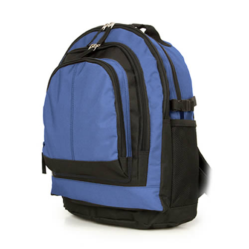 Under Seat Ryanair Backpack Bag 40x25x20cm Buckle Black Blue