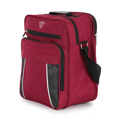 Under Seat Ryanair Bag Holdall 35x25x20cm Burgundy